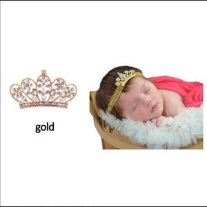 Other - Infant Tiara Headband 👑